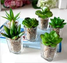 mini plants new design high quality artificial succulent plants mini succulent