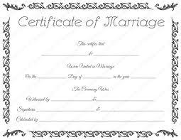 Free Wedding Certificate Template free printable marriage certificate template royal wedding