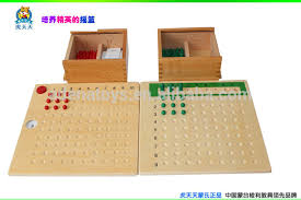 montessori multiplication and division bead board c113c114