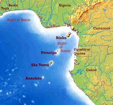 map of sao tome são tomé e principe maps