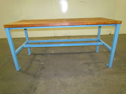 metal workbench frame bench decoration