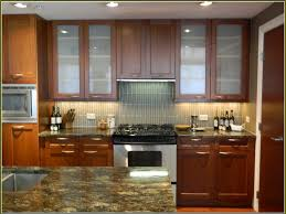 Recessed Kitchen Cabinets Kitchen Cupboard Contemporary Kitchen Replacement Natural