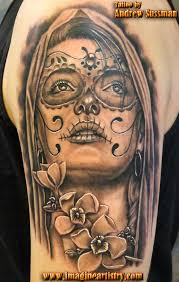 day of the dead skull tattoos the skull appreciaton society