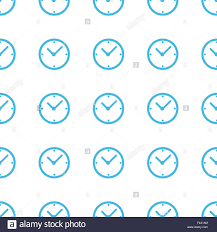 Unique Clock by Unique Clock Seamless Pattern Stock Photo Royalty Free Image