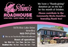 rhino s roadhouse home