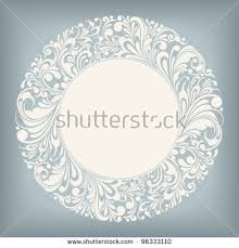ornamental frame vector illustration stock vector 96333110