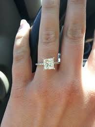best 25 square wedding rings ideas on square - Square Engagement Rings With Band