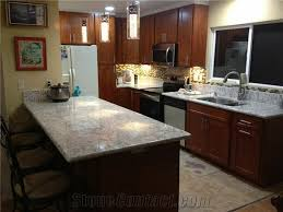 cherry cabinets with light granite countertops galaxy white granite countertop light cherry cabinet from united
