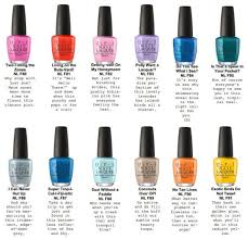 opi fiji 2017 spring summer collection nails pinterest fiji