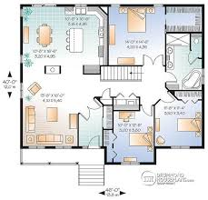 house plans with open floor plans house plan w2185 v1 detail from drummondhouseplans