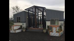 Fanciest Tiny House by Tiny Homes Connected With A Sunroom Deck In Between Amazing
