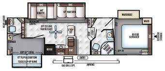 Bunkhouse Fifth Wheel Floor Plans | bunkhouse fifth wheel rv floorplans so many to choose wilkins rv