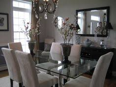 Mirrors In Dining Room Champagne Chooses Beige For Its Dinner Partner In This Casually