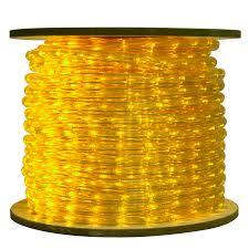 yellow led commercial bulk rope light reel