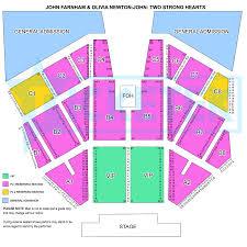 Sydney Entertainment Centre Floor Plan Two Strong Hearts John Farnham U0026 Olivia Newton John