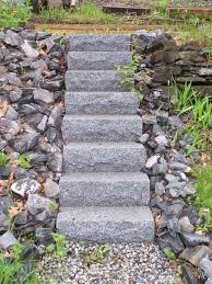 Down To Earth Landscaping by Down To Earth Landscaping Granite Steps Down To Earth Landscaping
