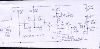 aptinex channel triac module bt139 600v 16a schematic electrical