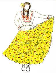 traje del sanjuanero huilense mujer y hombre para colorear danza en red traje típico tolimense