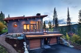 ski chalet house plans modern ski chalet rustic exterior denver by stillwater