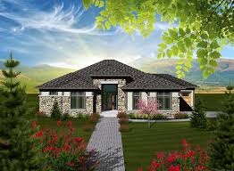 Hip Roof Colonial House Plans House Plan 97362 At Familyhomeplans Com
