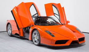 ferrari enzo one of one insanely rare rosso dino ferrari enzo for sale