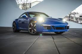porsche headlights porsche 911 gts club coupe commemorates porsche club anniversary