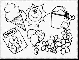 stunning spring flower coloring pages for kids with spring