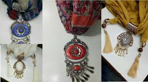tie pendant necklace images How to tie a pendant scarf necklace jpg