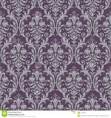 Purple Damask Wallpaper by Damask Seamless Pattern In Purple And Gray Stock Images Image