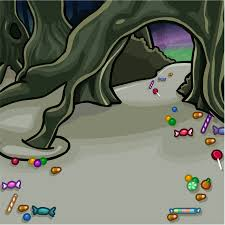 club penguin background halloween candy forest path background club penguin wiki fandom powered