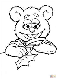 coloring muppet babies coloring pages