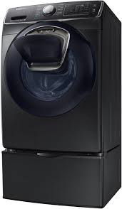 Samsung Blue Washer And Dryer Pedestal Samsung Wf45k6500av 27 Inch 4 5 Cu Ft Front Load Washer