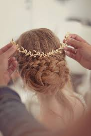 gold hair accessories wedding tiara bridal headpiece gold leaf headpiece wedding