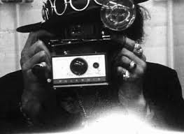 polaroid camera black friday shooting film celebrities with polaroid in hand