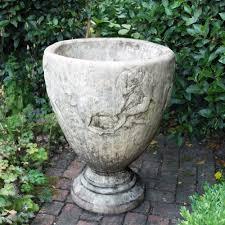 Large Planter Pot by Colossus Stone Vase Plant Pot Large Garden Planter S U0026s Shop