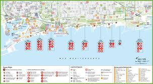 Map Of Venice Beach Barcelona Beach Map