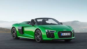 Audi R8 Blacked Out - audi r8 spyder v10 plus is 610 horsepower of drop top supercar