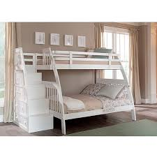 Canwood Ridgeline Twin Over Full Bunk Bed With Built In Stairs - Stairway bunk bed twin over full