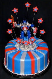 optimus prime cakes optimus prime children s birthday cakes birthdays