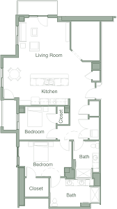 Bedroom Floor Planner by Sample Floor Plans Legacy Village Of Sugar House