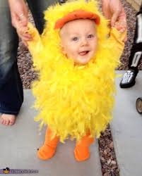 Baby Duck Halloween Costume Yellow Duck Baby Costume