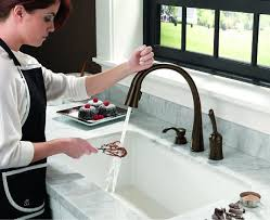 touch faucets for kitchen homethangs com has introduced a guide to luxury kitchen faucets