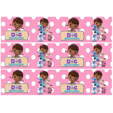 doc mcstuffins cupcake toppers characters doc mcstuffins cake border