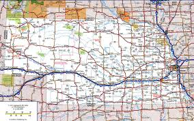 Map Of Cities In Usa by Nebraska State Road