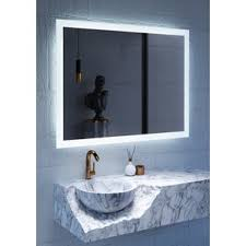 Bathroom Mirror With Lights by Mirrors With Lights You U0027ll Love Wayfair