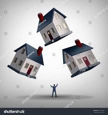 real estate manager house flipping management stock illustration