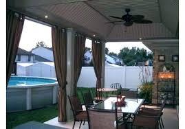 kitchen patio ideas outdoor curtain ideas patio curtain ideas outdoor curtains