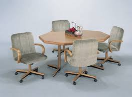 dining table with caster chairs lovable kitchen chairs with rollers with 23 kitchen table and