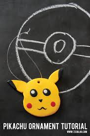 clay pikachu ornament inspiration made simple