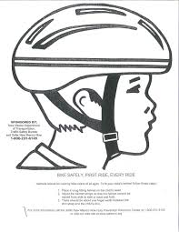 incredible design bike helmet coloring page bike helmet sketch